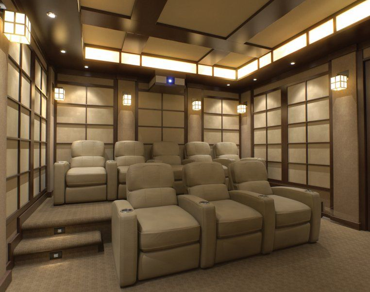 the seating view of the tea room home cinema designed by cinema rh pinterest com