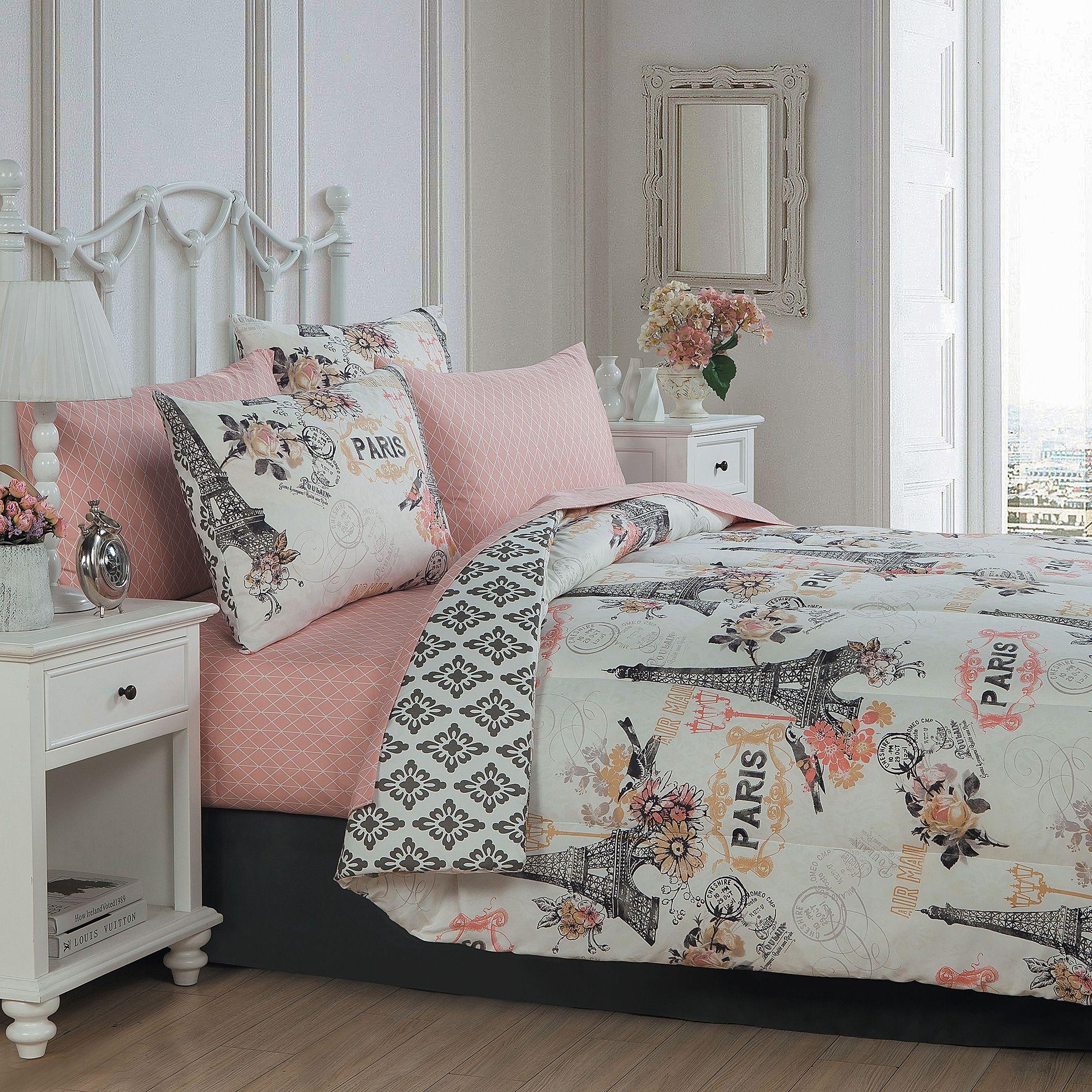 Cherie 8 Piece Complete Comforter Set Bed Bath Beyond
