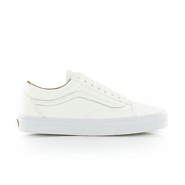 4f673360fc Vans Unisex Old Skool (Premium Leather) True White Skate Shoe 11 Men US   doorsstore a1726879  -  39.99   Vans Shop
