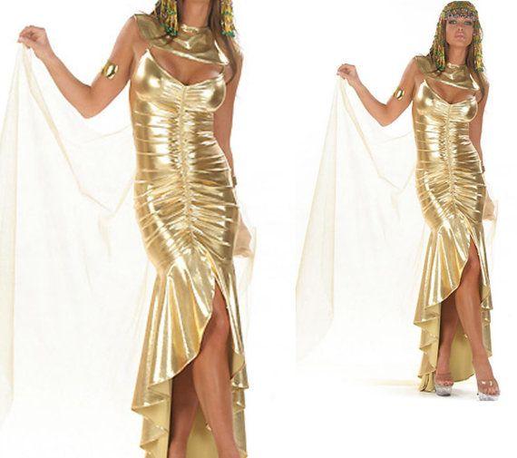 Kleid gold 110