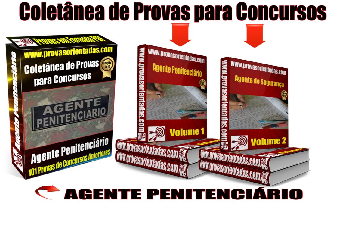 Coletânea Provas para Concursos - Agente Penitenciário