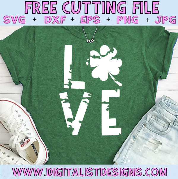 Download Free Love St. Patrick's Day SVG | How to make tshirts, Svg ...