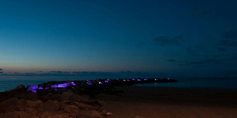 Proyecto de Iluminazión de la zurriola.
