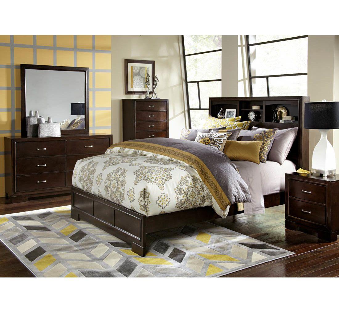 Liam 7 Pc Queen Bedroom Group Bedroom Furniture Design King Bedroom Sets Modern Bedroom Furniture