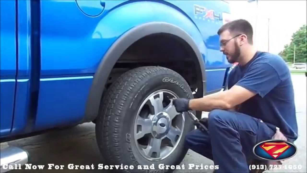 KansasCity , KS Ford TireandAutoCenter How To Put