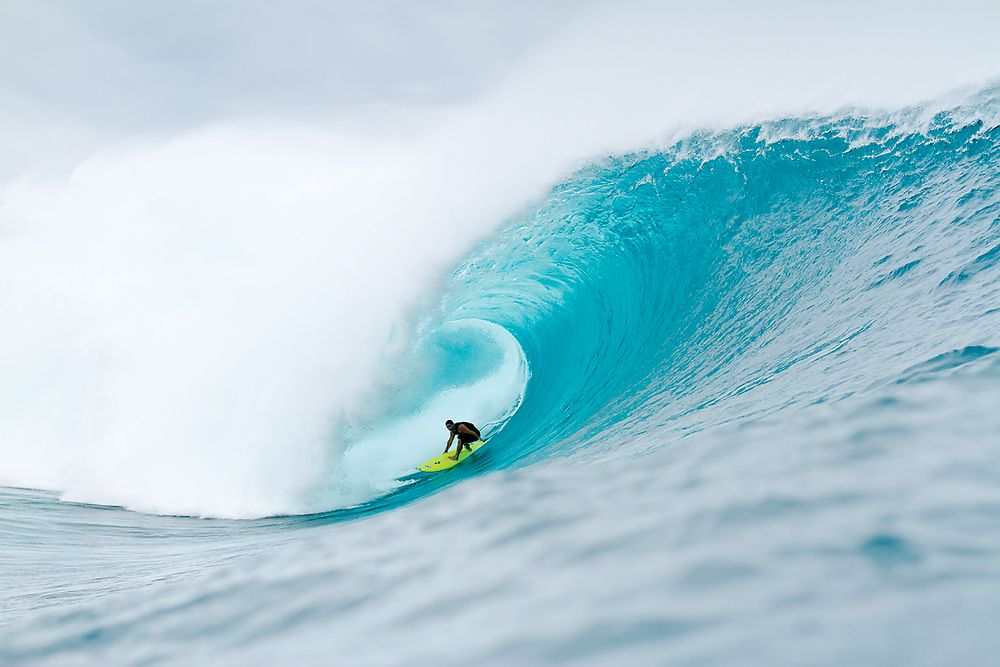 At The Volcom Fiji Pro What Would Have Been Biggest Best Surf Ever For A Contest Turned Into Freesurfing