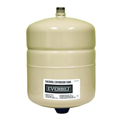 Everbilt 2 Gal Thermal Expansion Tank Thermal Expansion The Expanse Solar Water Heater