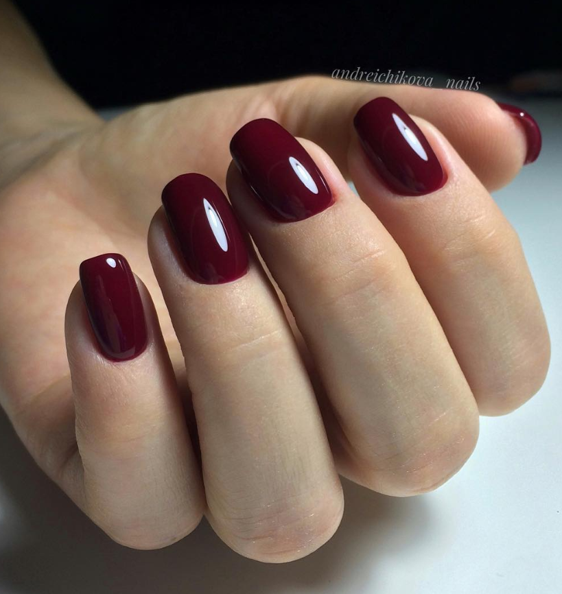 48 Stunning Red Acrylic Short Square Nails Design For Prom Square Nail Designs Short Square Nails Prom Nails Red