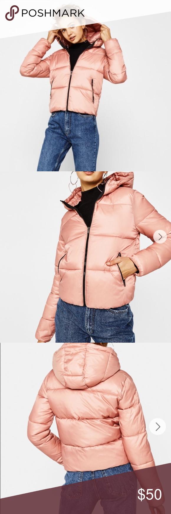 Bershka Puffer Jacket In Blush M Jackets Bershka Jacket Clothes Design [ 1740 x 580 Pixel ]