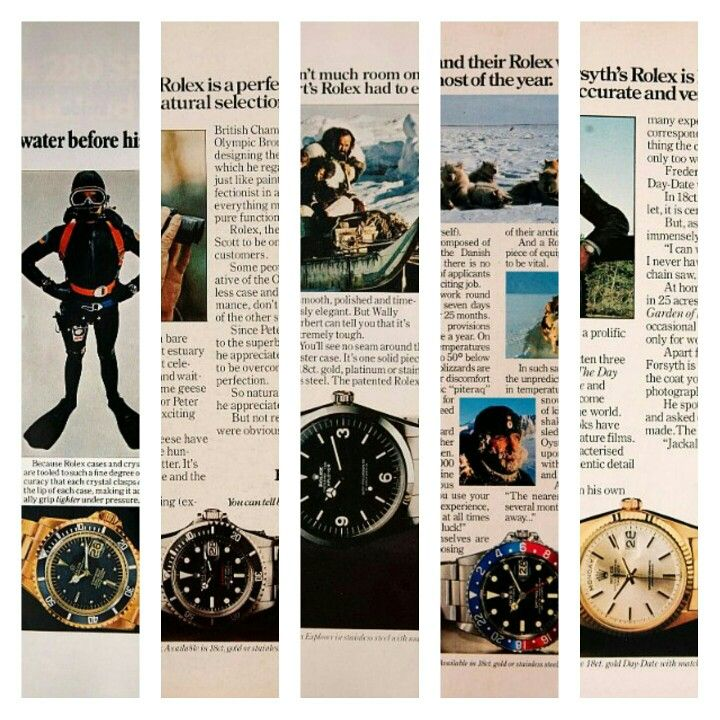Elegant Rolex National Geographical Magazine Ads These I Miss In The New Online  World Of Everything.