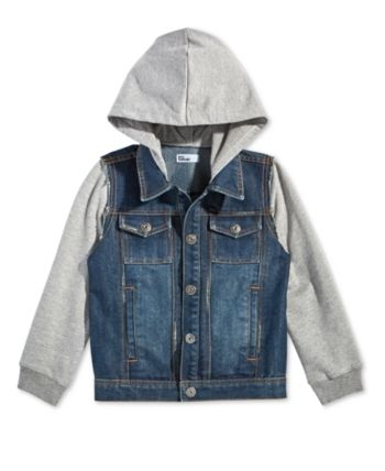 f7dd94a5101e Epic Threads Toddler Boys Layered-Look Hooded Denim Jacket