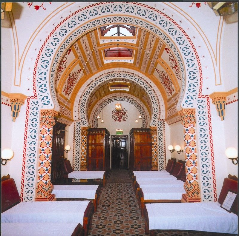 Turkish baths and health spa