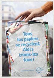 Et si on vérifiait que tous les papiers se recyclent ?