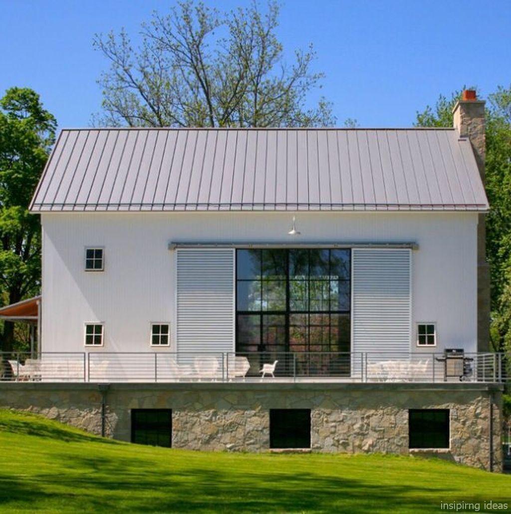 28 Simple Modern Farmhouse Exterior Design Ideas