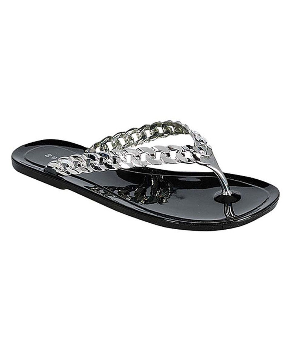ebfb1e0bdb3ee This Black Ebbe Flip-Flop by Bamboo is perfect!  zulilyfinds
