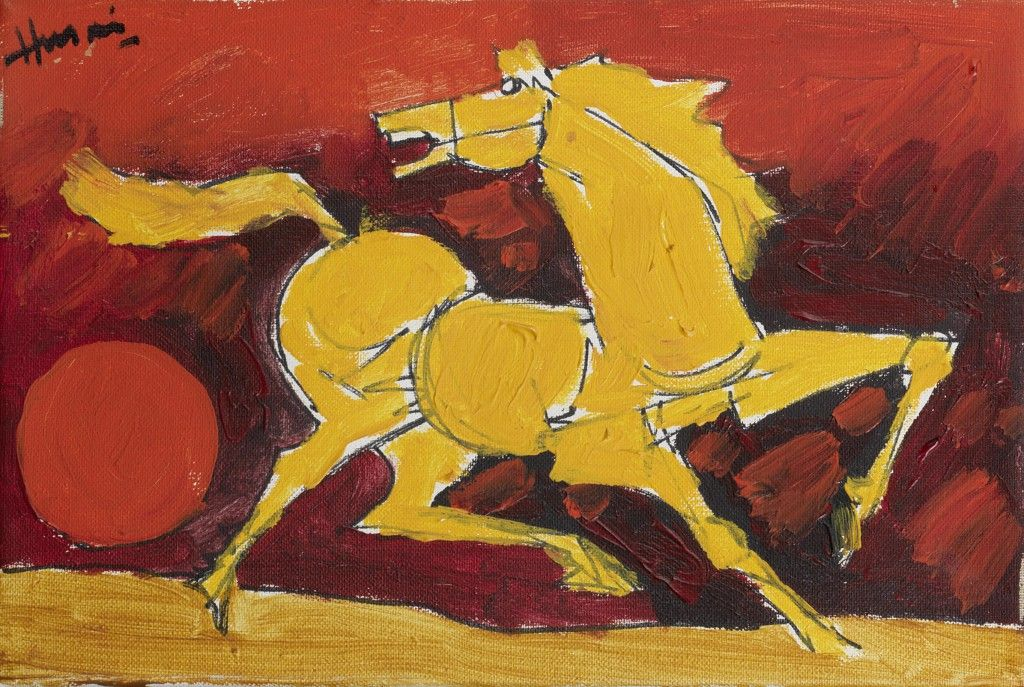 Ten Different Depictions of Horses in Art | Famous artists paintings, Horse  painting, Mf hussain paintings