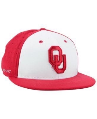 cheap for discount 815b7 6b11a Nike Oklahoma Sooners Aerobill True Fitted Baseball Cap - Red 7 3 8