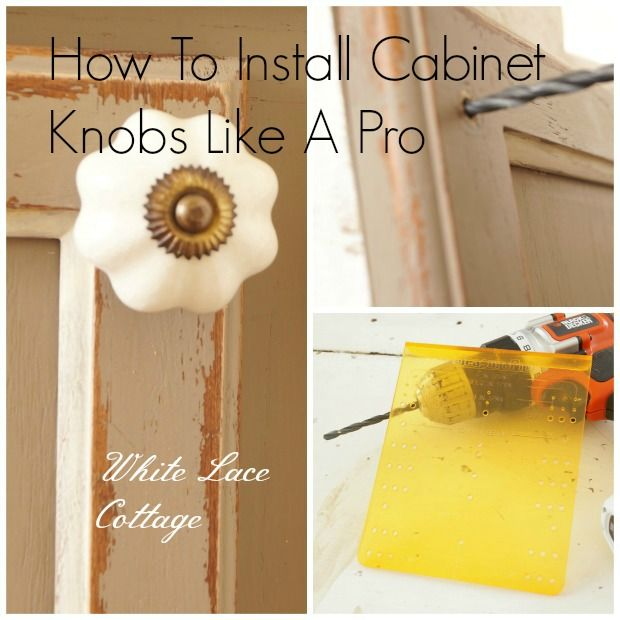 installing cabinet door hardware home renovating maintenance rh pinterest com