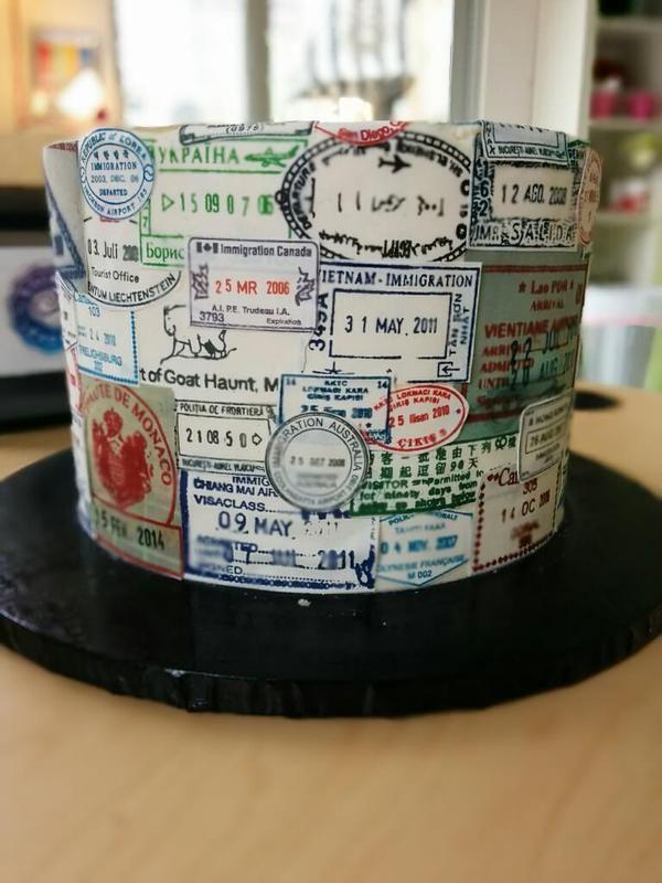 Passport Cake Google Search Weddings Ideas Trave