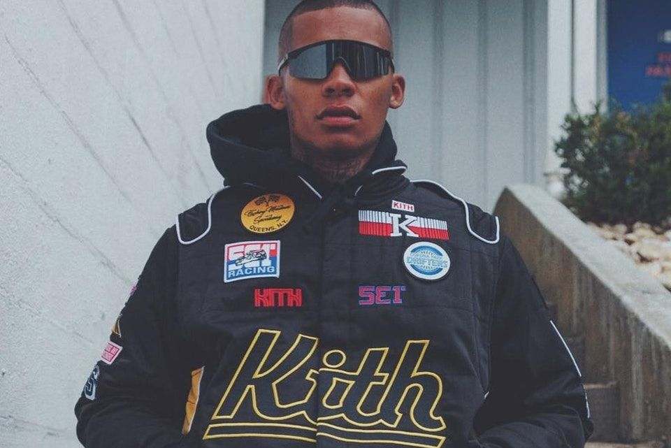 Ronnie Fieg Previews New KITH Racing Suit | Winter jackets