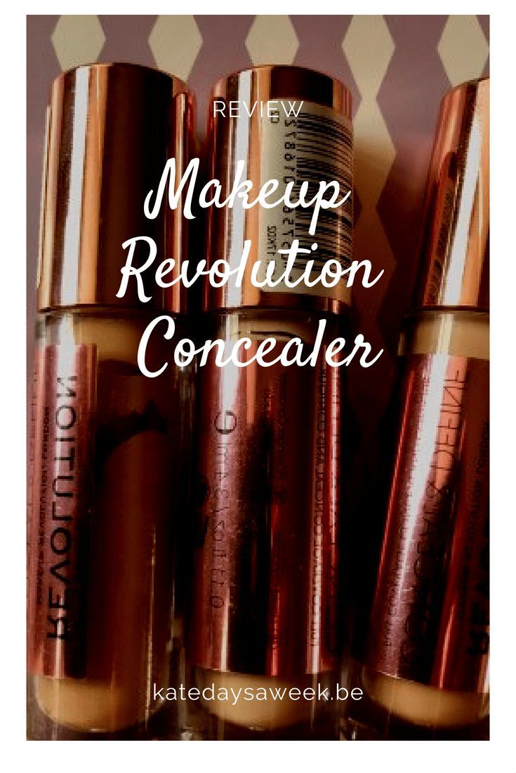 Makeup Revolution Concealer Middleaged Review