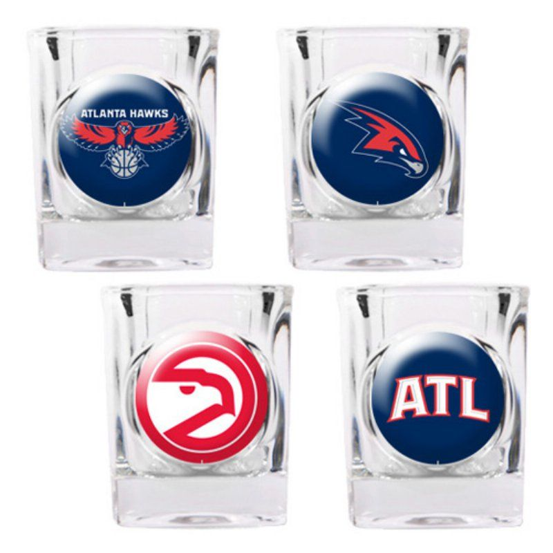 Great american nba logo square shot glass set gssc4pk22 this new england patriots square shot glass set will look great in any new england fan cave each of the 4 glasses is decorated with a different patriots voltagebd Gallery