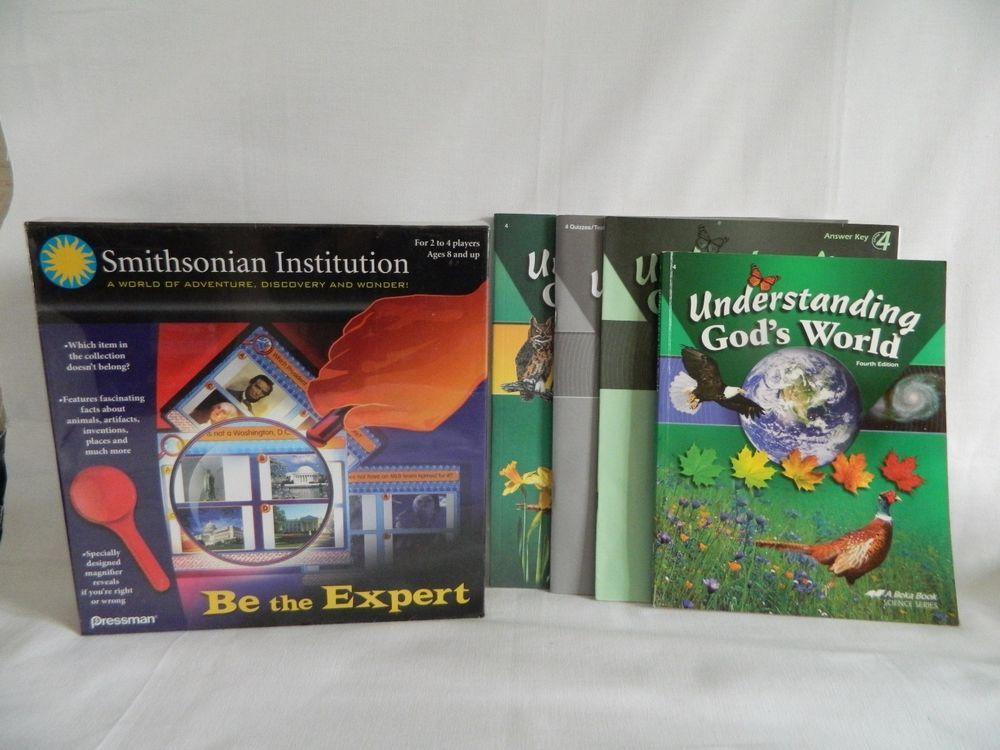 abeka understanding god s world science w key new smithsonian rh pinterest com