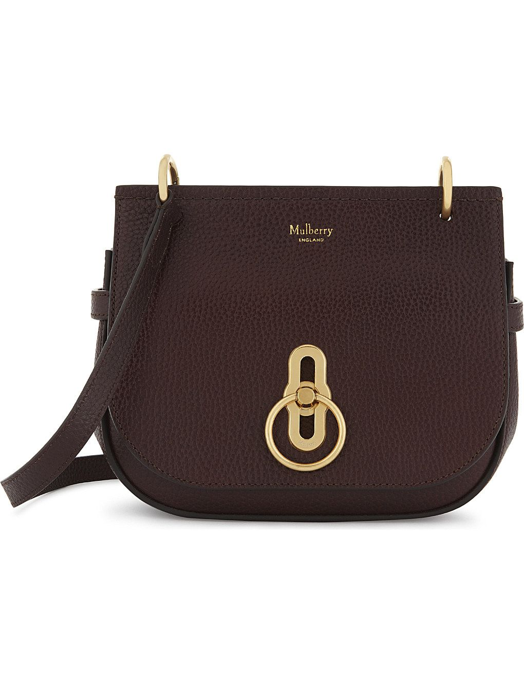 8399d66dfb47 MULBERRY Amberley small grained leather cross-body bag