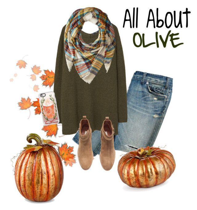 """All about olive!"" by kinleymarieforbis on Polyvore featuring MANGO, Steve Madden, H&M, Casetify and Improvements"
