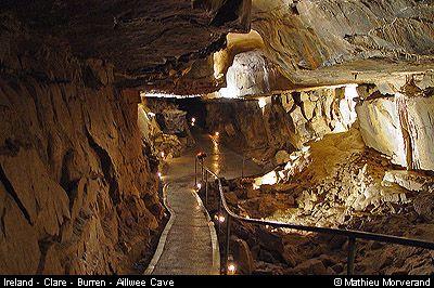 aillwee cave the burren co clare ireland underworld