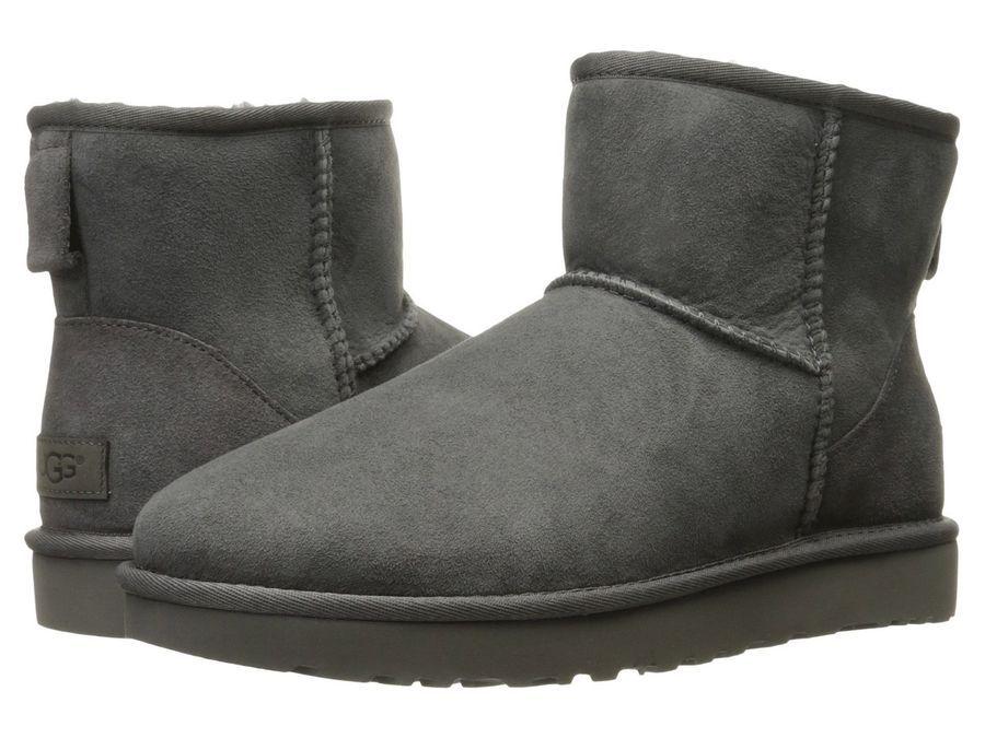286a85d9ca7 NEW UGG Women's Classic Mini II Winter Boots Shoes Black Chestnut ...