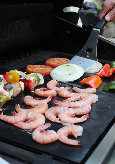 BBQ Grill Mat Paper Resistant Reusable Non-Stick Barbecue Baking Mat