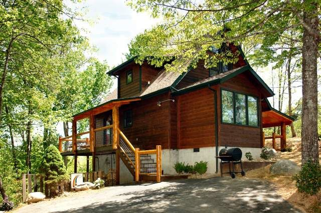 rainbow falls 2 bedroom cabin at parkside cabin rentals two rh pinterest com