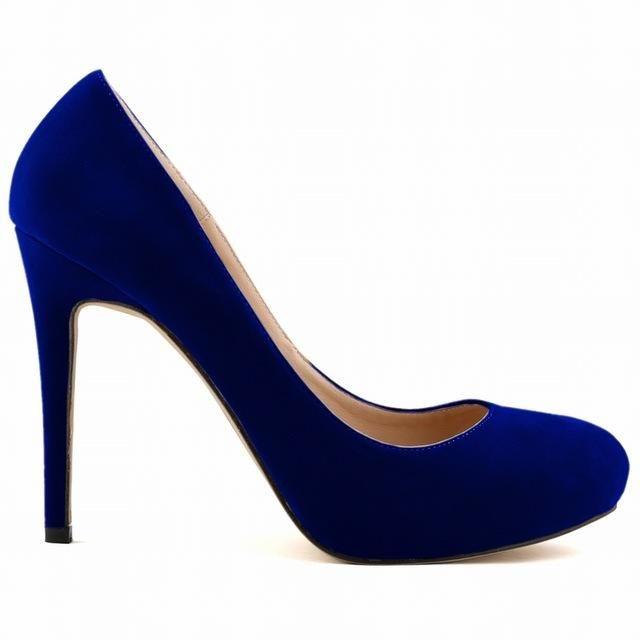 Women's Sexy Princess Elegant Thin Heel Pumps 11 Colors