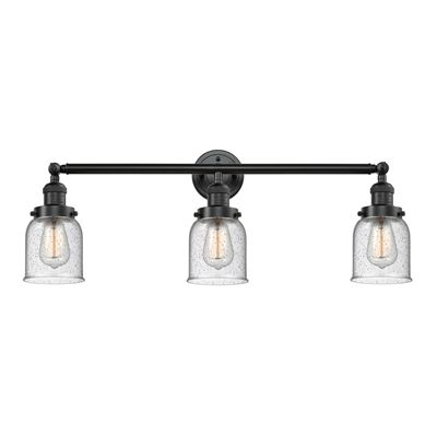 innovations lighting 205 3 light small bell knob bath vanity light rh pinterest com