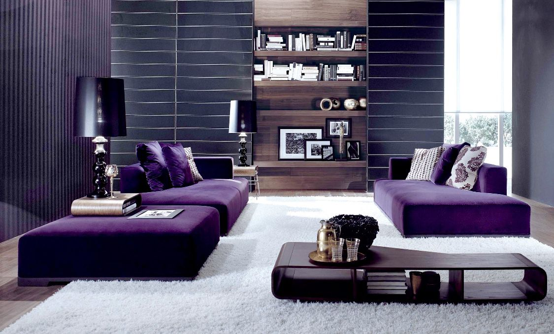 Pin On 50 Fabulous Purple Living Room Ideas #purple #couch #living #room #ideas