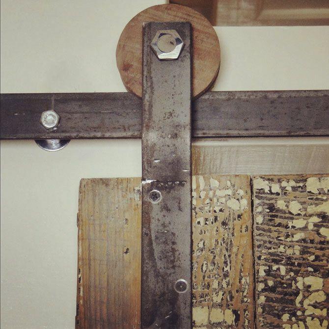 #DIY Door Track Tutorial On How To Make Your Own Sliding Door Track  Hardware: