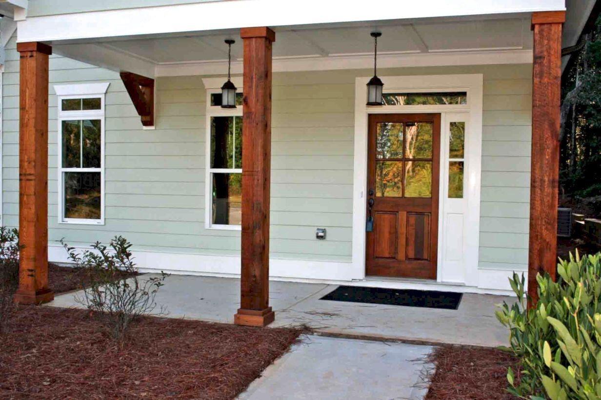 48 Farmhouse Porch Design Decor Ideas Porch Design Farmhouse