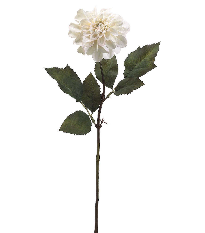 """Bloom Room 25"""" Dahlia Stem-Vanilla"""