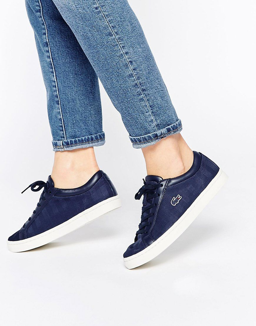 Womens lacoste sandals - Lacoste Lacoste Straightset W3 Trainers At Asos