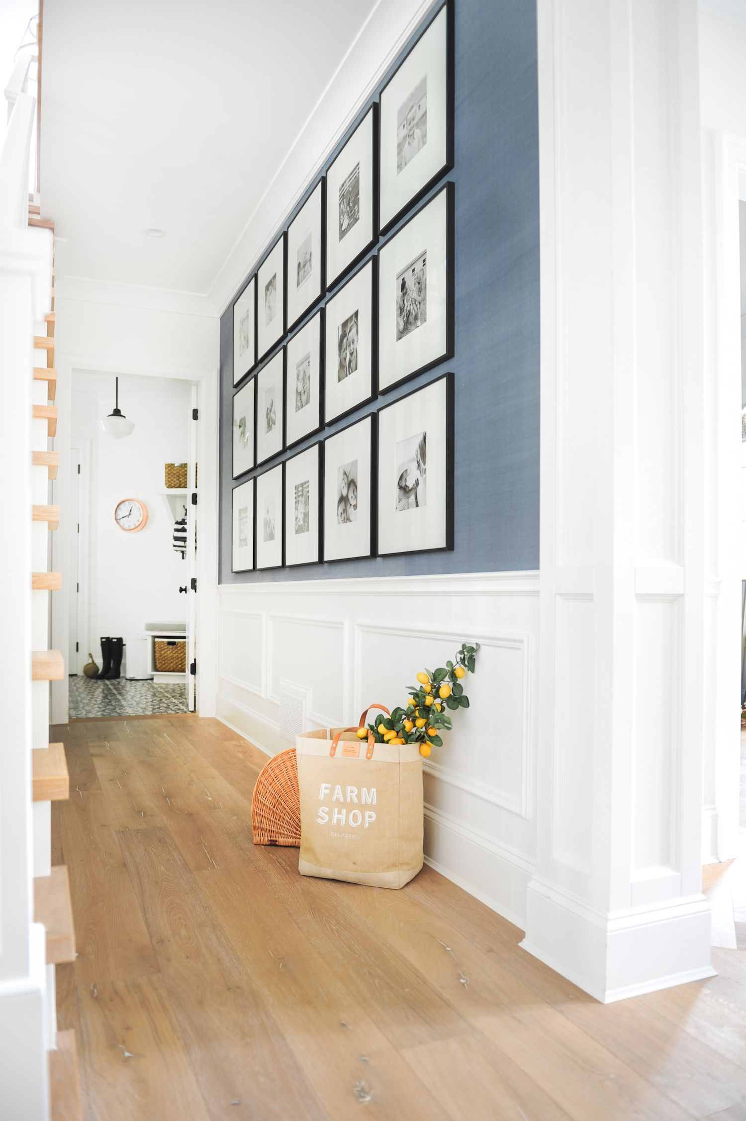 Hallway wall storage  How to Create the Perfect Gallery Wall  Interior Design  Pinterest