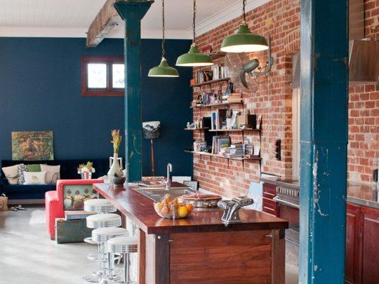 18 kitchens that have the brick walls you dream of 3015 shenandoah rh pinterest com