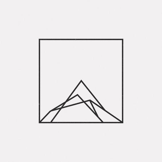 SAVILLE&KNIGHT | Logo géométrique, Dessin origami, Logos