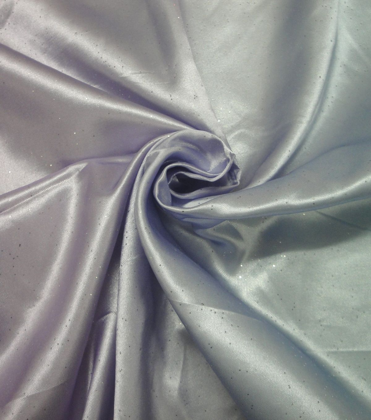 Versatile PALE SILVER GRAY Poly Silk-Like PONGEE or Lining Solid Fabric