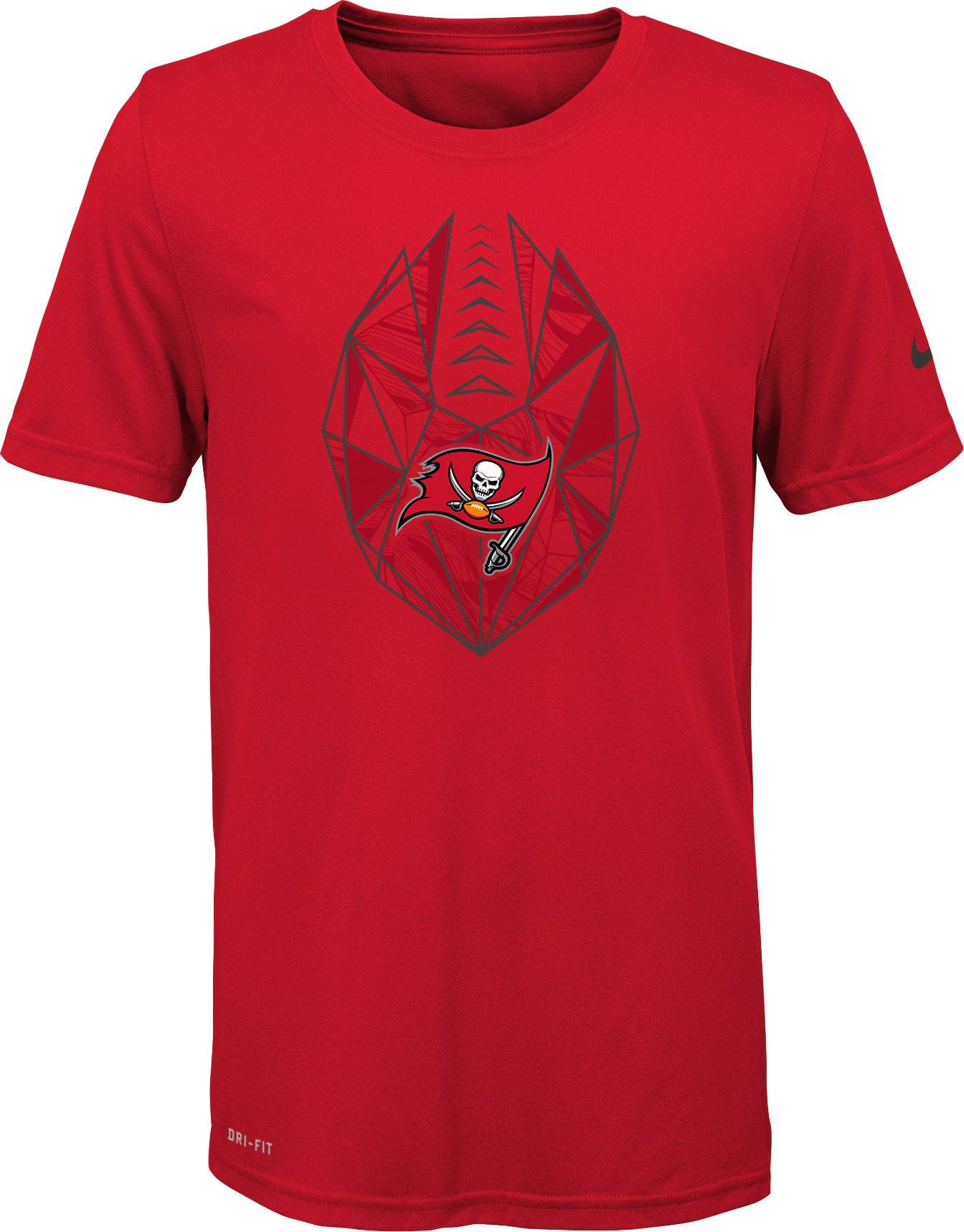 Nike Youth Tampa Bay Icon Performance Red T-Shirt c307098ec