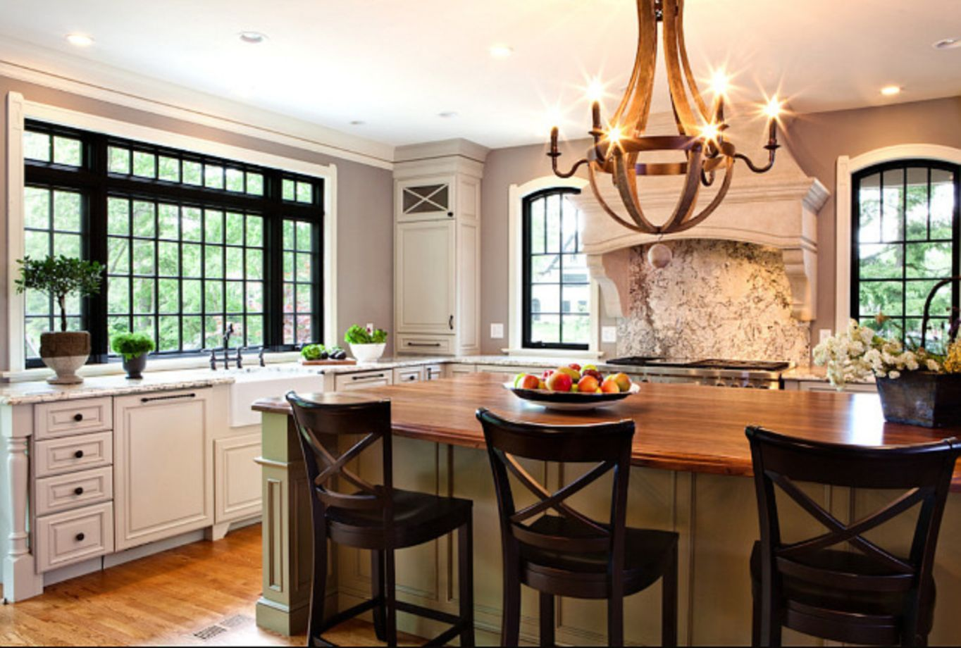 75 Amazing Cream Dark Wood Kitchens Ideas