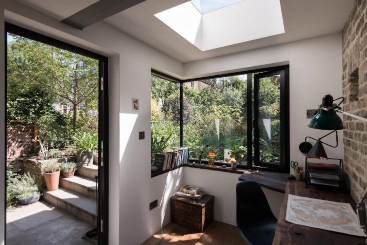 Thuiskantoor Uitbouw Tuin : Thuiskantoor in uitbouw in de tuin living wonen pinterest