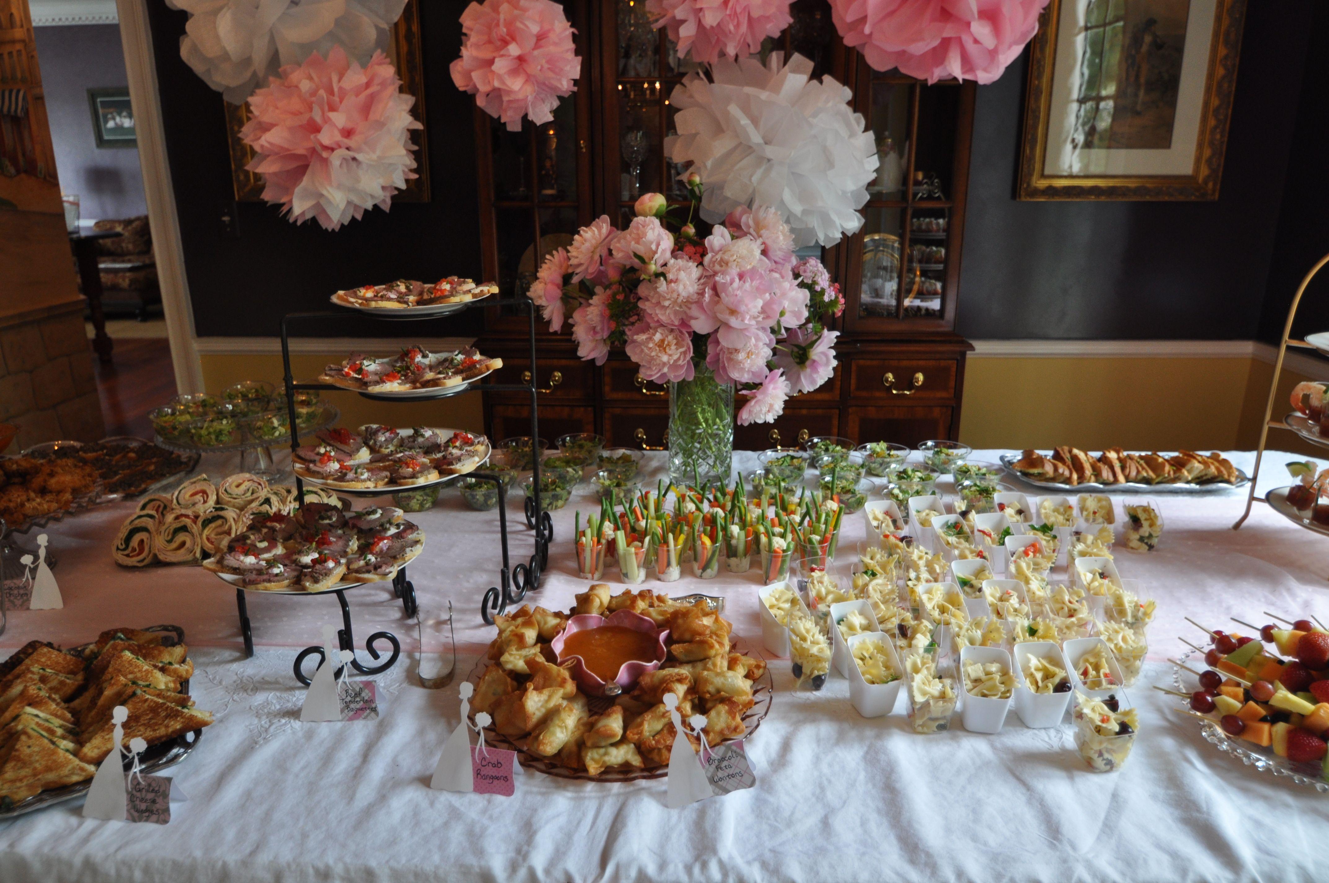 unique bridal shower appetizers%0A Small Plates Bridal Shower Sips Savories  u     Sweets