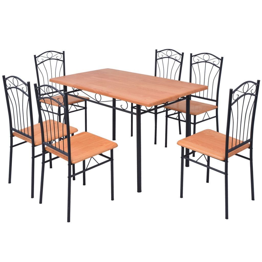 this dining set consisting of 1 table and 6 high quality chairs rh pinterest com