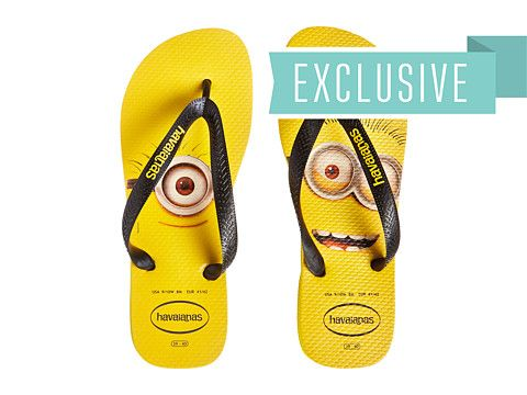 68d8d2d48 Havaianas Minions Flip Flops Citrus Yellow - Zappos.com Free Shipping BOTH  Ways